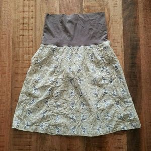 Columbia Cotton Skirt With Pockets